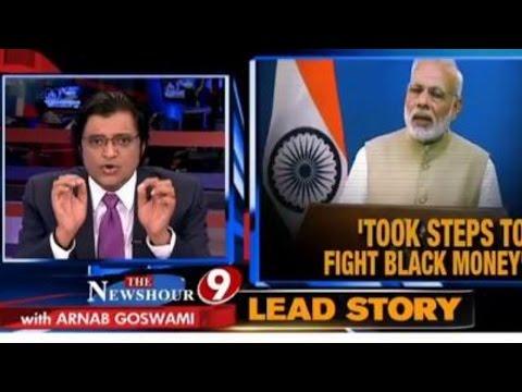 Arnab Goswami's Take On PM Modi's WAR On Blackmoney