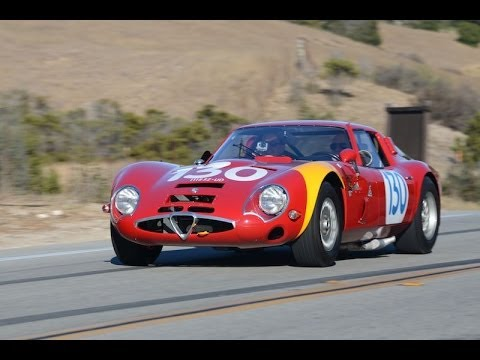 1965 Alfa Romeo Giulia TZ2 Driving Report  YouTube