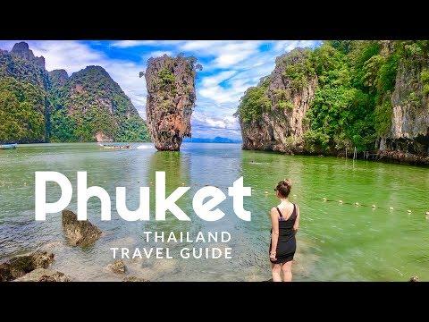 HIGHLIGHTS of Phuket, Thailand. Island hopping boat tour   TRAVEL GUIDE