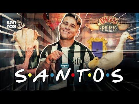 FRIENDS: HOMENAGEM DO SANTOS AOS 25 ANOS DA SÉRIE