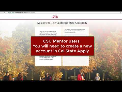Cal State Apply Overview