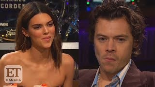 Harry Styles Won't Talk About Kendall Jenner