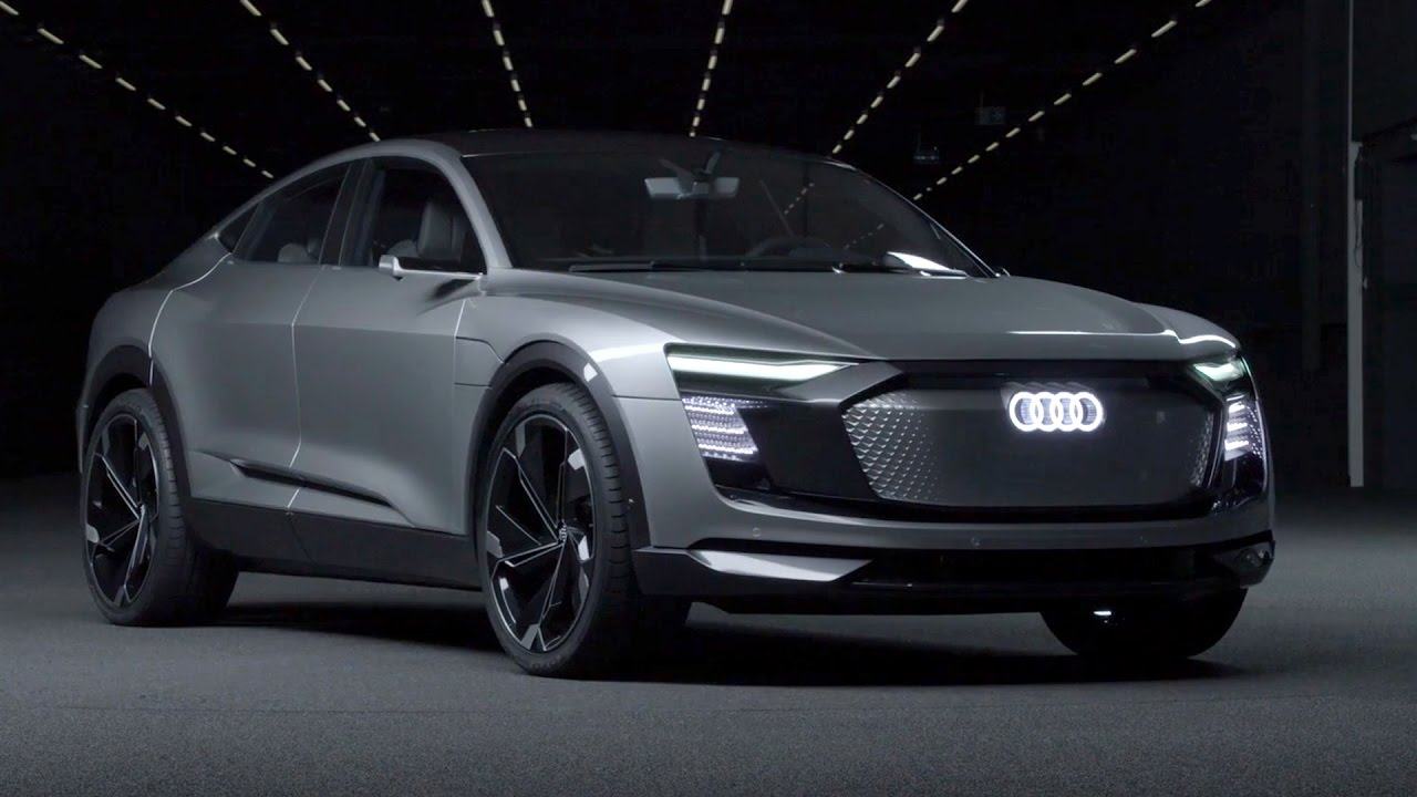audi e tron sportback concept auto shanghai 2017 youtube. Black Bedroom Furniture Sets. Home Design Ideas