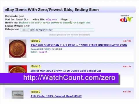 Ebay Auctions Ending Soon No Bids Youtube