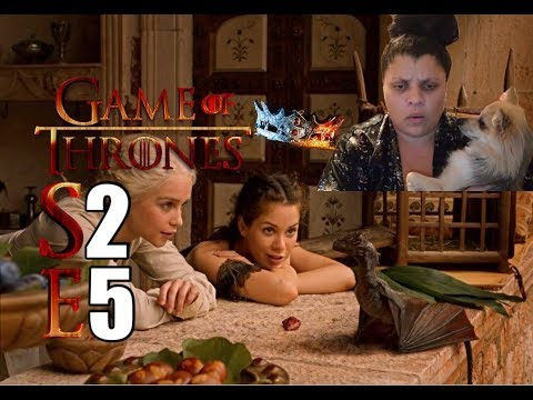 "Game of Thrones S2 E5 ""The Ghost of Harrenhal"" - REACTION (Part 2)"