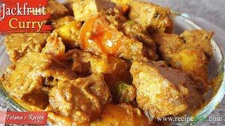 Kathal (Echor) recipe | Jackfruit Curry | Echorer Dalna | Bengali veg (Niramish) recipes