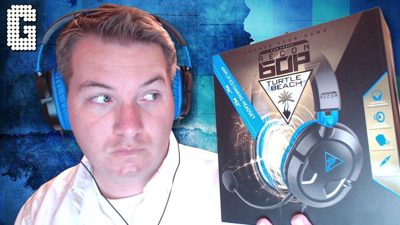 271b4b237d6 First Look! Turtle Beach Ear Force Recon 60P REVIEW! - YouTube