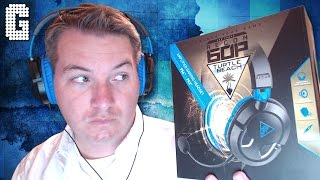 first look turtle beach ear force recon 60p review