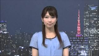 いつも、ニュースの最後を笑顔で癒してくれる寺川奈津美さんです。