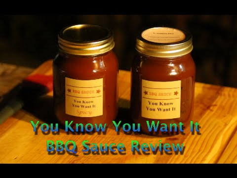 You Know You Want It BBQ sauce review
