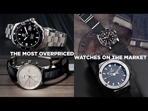 The Most Overpriced Watches On The Market