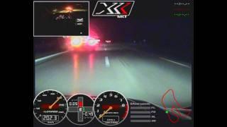 tikt corvette zr1 xxx 330km h der lord auf highspeed acceleration run 330km h 205mp h wmv