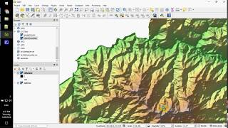 Make and style hillshade in QGIS 3 tutorial