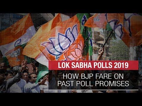 Lok Sabha Polls 2019: How BJP fares on past poll promises