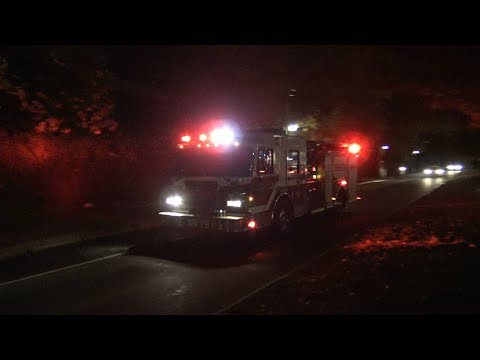 Vancouver Fire & Rescue Services Engine 19 & BC Ambulance Responding