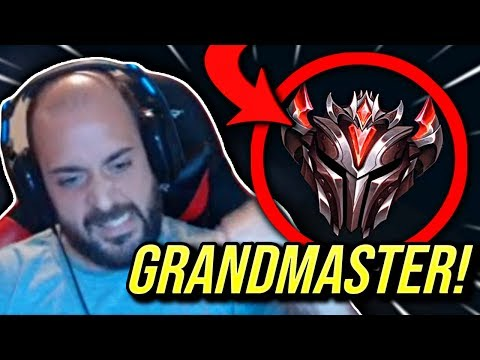 PROMOTED TO GRANDMASTER CHALLENGER HERE I COME - Road To Challenger  League of Legends