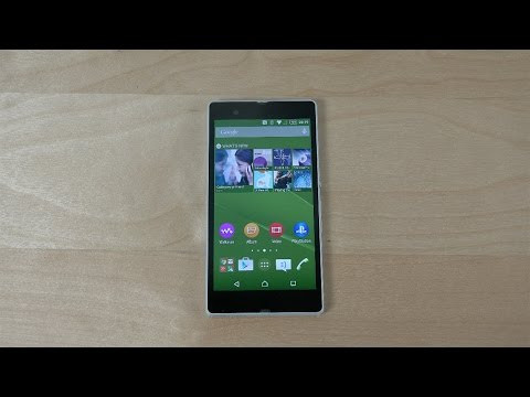 Sony Xperia Z Official Android 5.0.2 Lollipop - Review (4K)