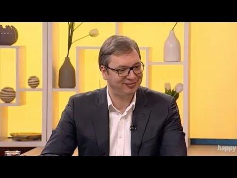 Predsednik Aleksandar Vucic - Dobro jutro Srbijo - (TV Happy 01.03.2018)