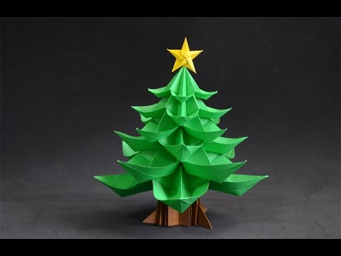 Origami Christmas Tree Youtube