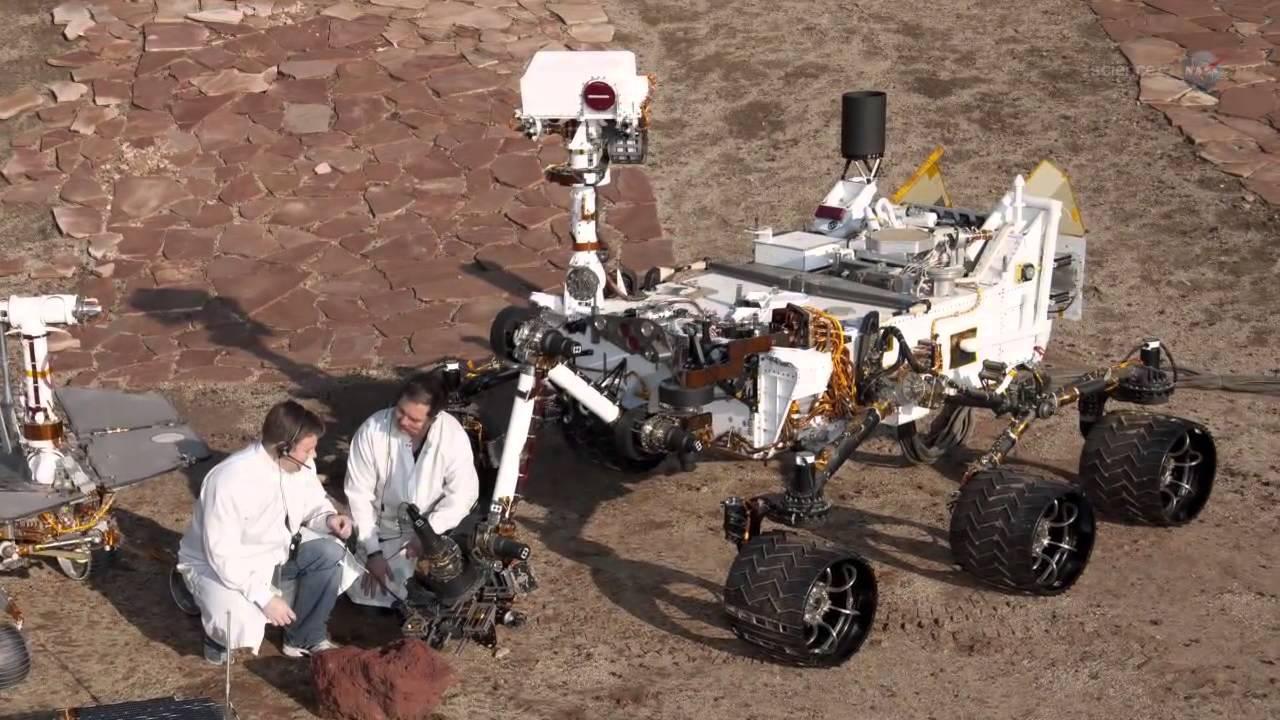 nasa curiosity landing - 1280×720