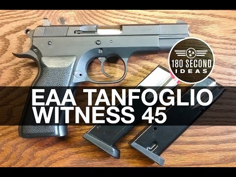 EAA Tanfoglio Witness 45ACP Review