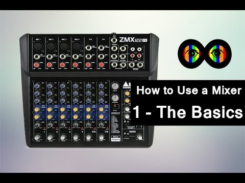 How to Use a Mixer 1 - The Basics - Infinite Loop