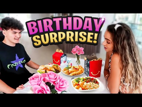 Little Brother Surprised DREAM GIRL for her Birthday (Sommer Ray)