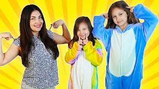 Head, Shoulders, Knees & Toes - Exercise children Song by Dora  and Alisa