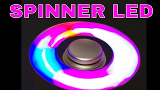 LED Spinner Francais Fidget Jouet Anti Anxiété Soulage le Stress TDAH Autisme Review ThinkUnBoxing