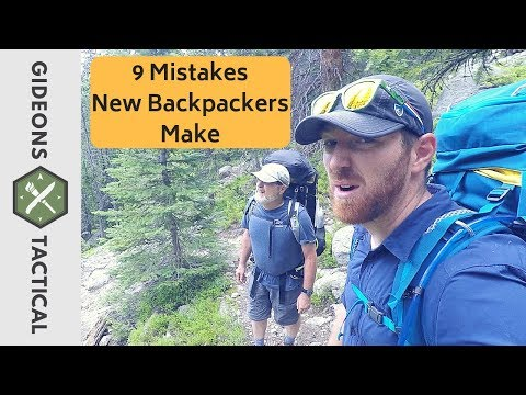 9 Mistakes New Backpackers Make