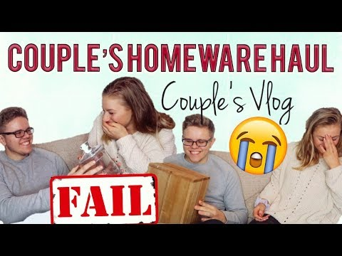 SHOWING MY BOYFRIEND WHAT I BOUGHT FOR THE NEW HOUSE... THE GOOD & THE BAD | Couple's Vlog