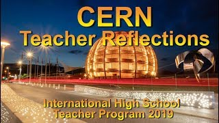 CERN reflections from the high school teacher program