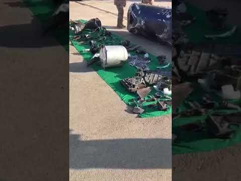 فيديو: مهارة «دفاعات القوات الجوية السعودية» تُحيل صاروخ الحوثي لـ«خُردة»