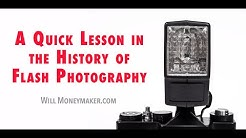 A Quick Lesson in the History of Flash Photography | Will Moneymaker Photography Podcast