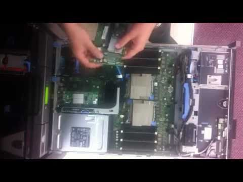 Installing a PERC 7 card in a Dell R710 server