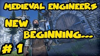 Medieval Engineers Gameplay - Ep. 1 - Survival Let's Play and Tutorials