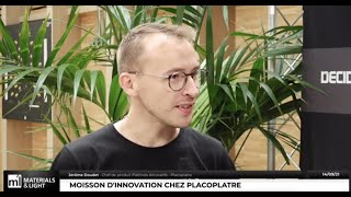 Materials & Light 2021 : Moisson d'innovation chez Placoplatre