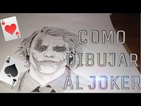 The Joker Como Dibujar Al Guason Joker Como Dibujar A Lapiz
