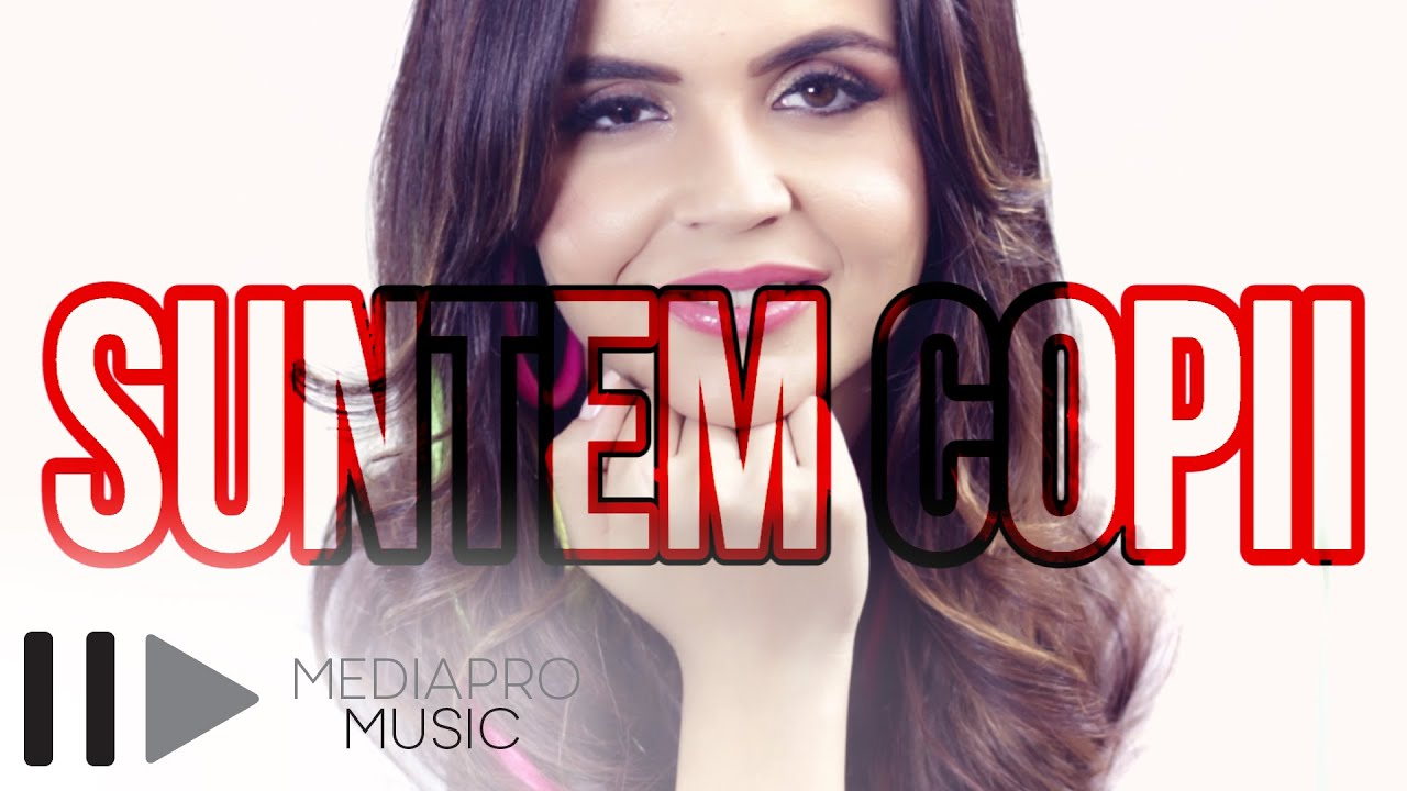 Francesca feat Vizante - Suntem copii (Lyric Video)