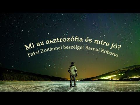 Paksi Zoltán előadásai a csillagokról