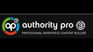 Authority Pro 3.0 Creates Amazing Sales Pages