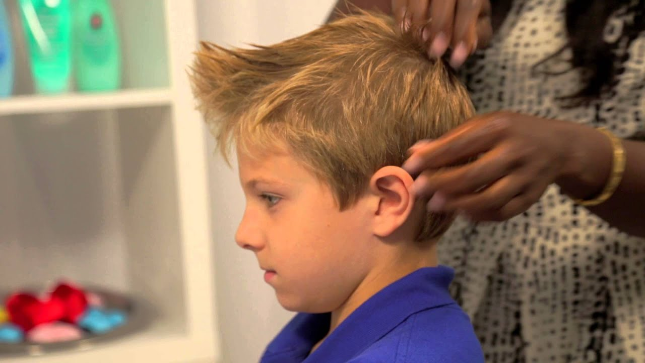 Kids Faux Hawk Halloween Hairstyles Johnsons No More Tangles