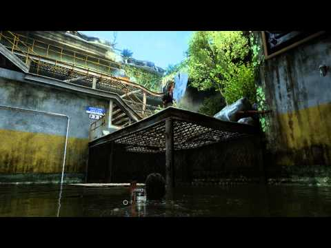 The Last of Us: Remastered - Bus Depot Underground Tunnel: Ladder & Palette Puzzle, Water Rapids PS4