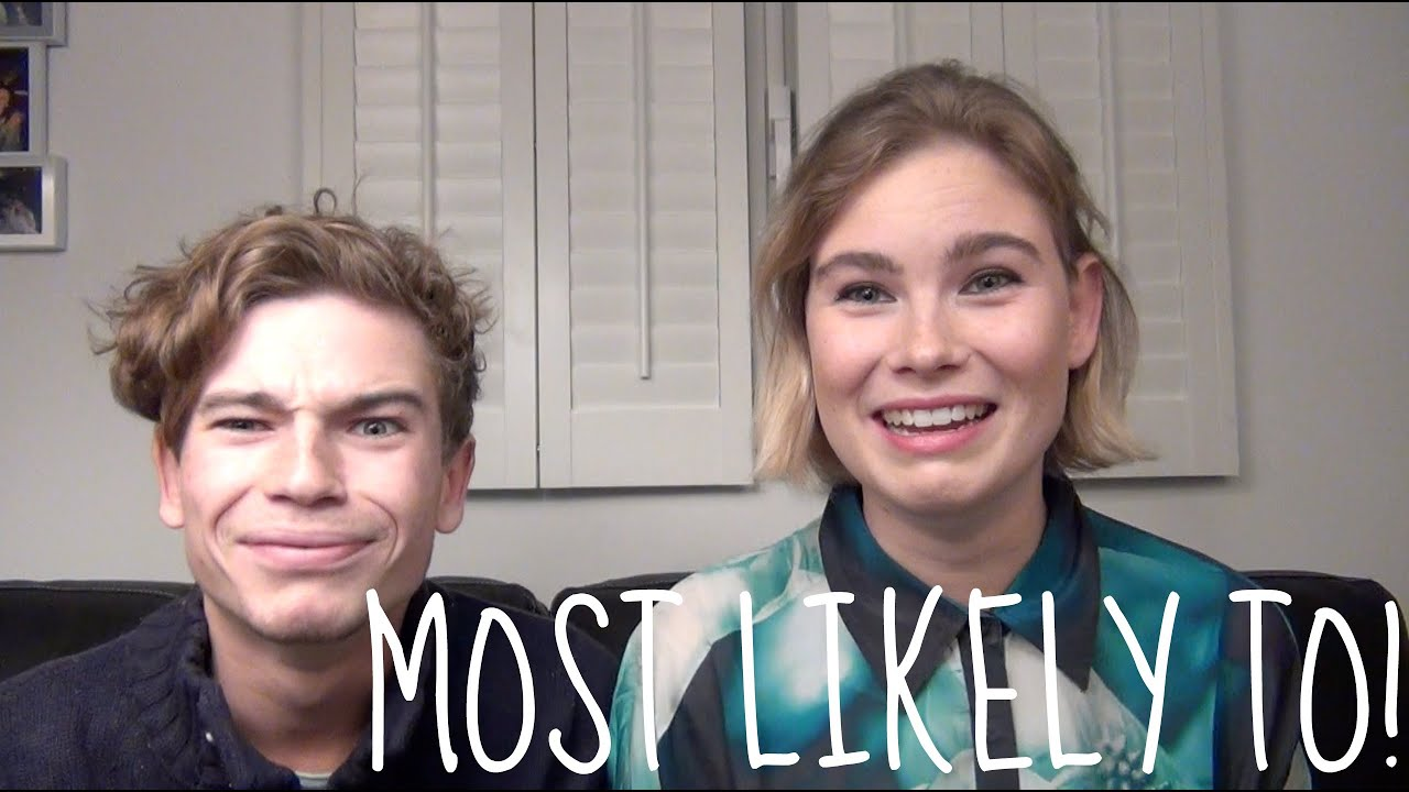 most likely to w/ my sister - youtube