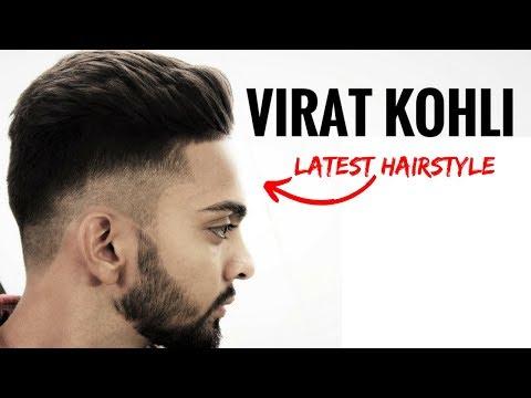 Virat Kohli hairstyle inspired haircut 2017 ⭐️ Men's hairstyles & haircuts  Indian men hairstyle.