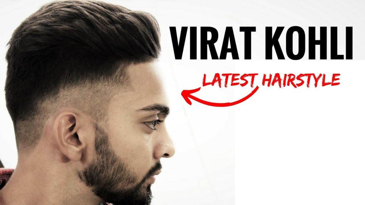 Virat Kohli Hairstyle Inspired Haircut 2017 ⭐️ Men S