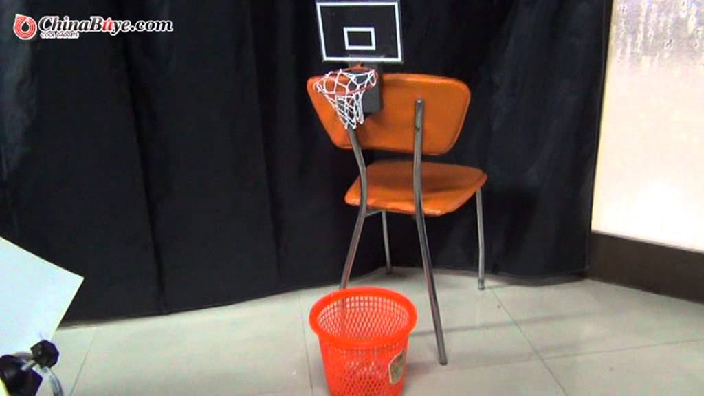 Charmant Cheering Basketball Trash Can Toy Office Hoop For Home Office Relaxing    YouTube
