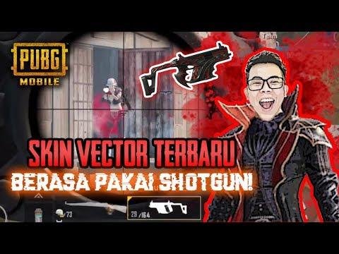 SKIN VECTOR TERBARU HOROR GILA !! BERASA PAKE SHOTGUN !!! - PUBG MOBILE INDONESIA