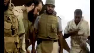 (عاصفة الحزم )شاهد الشيخ محمد العريفي في جبهات القتال على الحدود 2015