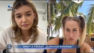 Stirile Kanal D(03.05.2021) - Sindy, primele reactii dupa ce a parasit Survivor! | Editie de seara